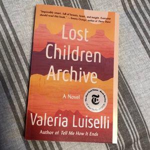 Lost Children Archive Book